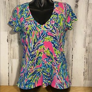 Lilly Pulitzer Top V-Neck like new